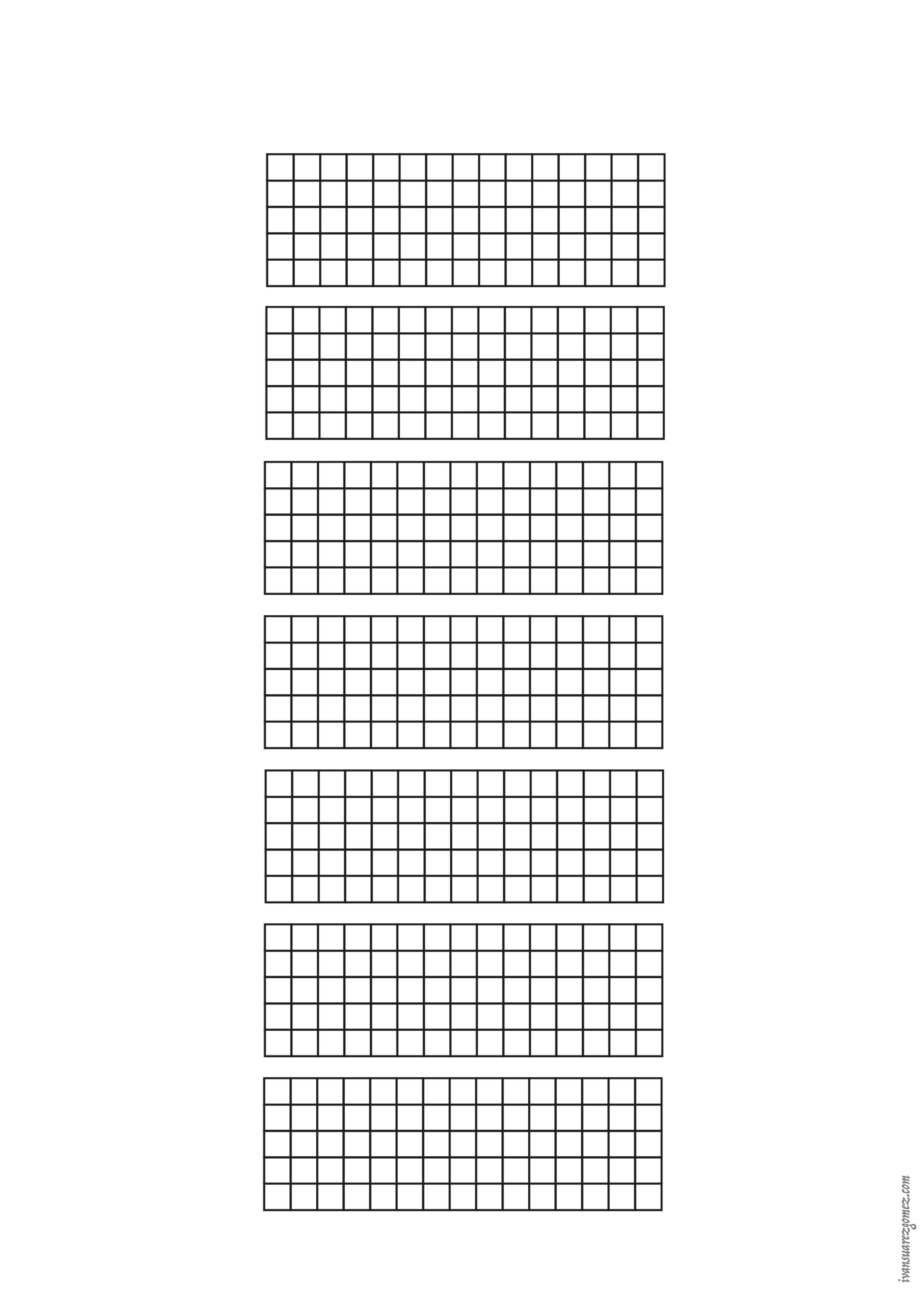 Guitar - 7 white fretboard